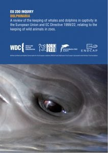 EU dolphinaria report cover